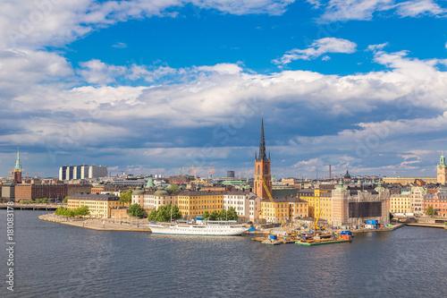 Aluminium Stockholm Old Town (Gamla Stan) in Stockholm, Sweden