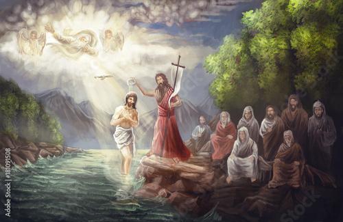 Baptism of Jesus © vukkostic