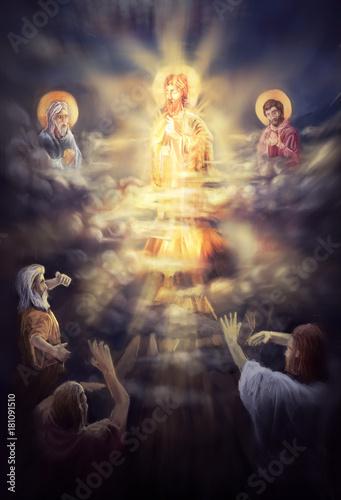 jesus christ transfiguration © vukkostic