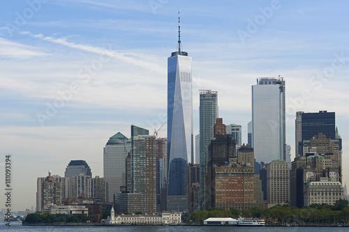 Foto Murales Manhattan skyscrapers, New York city