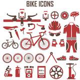bike icons vector set.