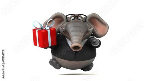 Poster Fun elephant - 3D Animation