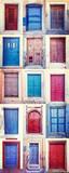 doors of santorini - 181115947
