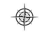 Unique Circle Compass Navigation Travel Logo Symbol - 181131316