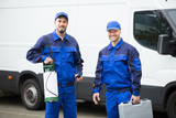 Portrait Of Two Pest Control Workers - 181137103