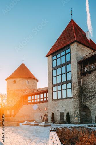 Tallinn, Estonia. Former Prison Tower Neitsitorn In Old Tallinn.
