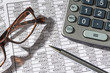 calculator and statistics - 181145716