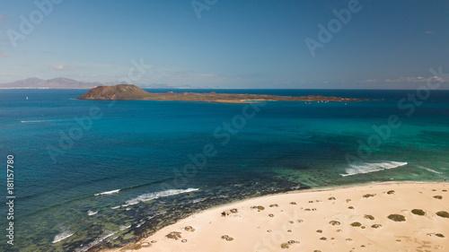 Staande foto Canarische Eilanden lobos island
