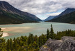 Bennett Lake. Image of Bennett Lake in the Yukon Territory of Canada