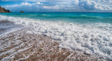 beautiful sea beach - 181162365