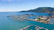 Quadro Aerial view of La Spezia, Italy