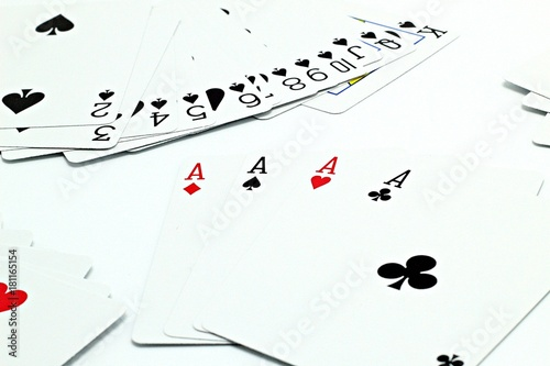 cards on the table плакат
