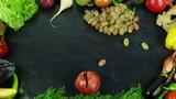 Food fruit stop motion - 181196918