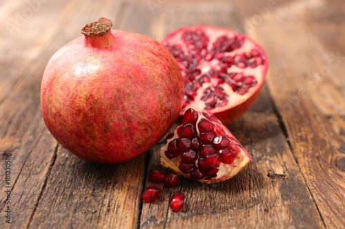 Poster pomegranate