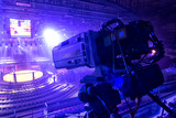 tv camera in competitions in mixed martial arts. - 181230928