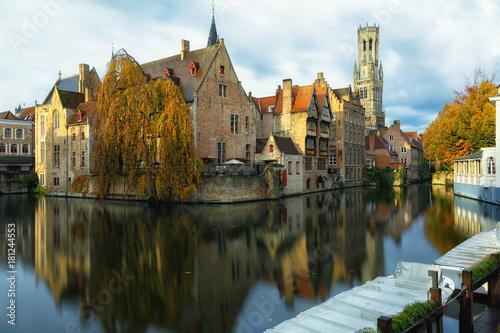 Aluminium Brugge Autumn in Bruges