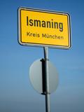 schild ismaning - 181247906