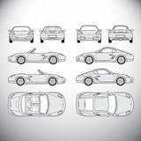 Automobile.Template for graphic design