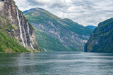 Wasserfälle Sieben Schwestern Norwegen