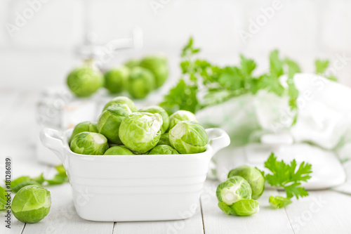 Deurstickers Brussel Brussels sprouts