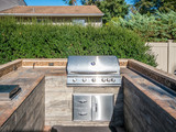 Grill at private backyard - 181288564