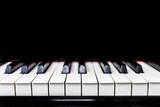 Piano keyboard keys - 181289137