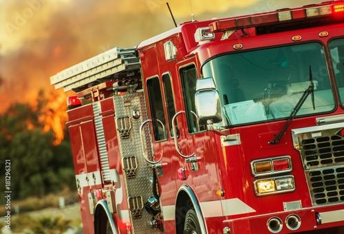 Wóz strażacki operacji