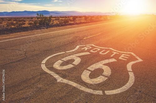 Foto Murales California Route 66 Mojave