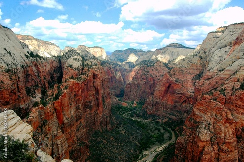 Foto op Plexiglas Diepbruine The view in Zion