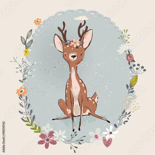 cute-summer-deer
