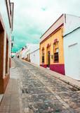 Beautiful old  town with colourful houses - Altstadt mit bunten Häusern - 181321567