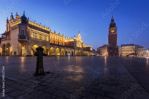Foto op Canvas Krakau Rynek Główny - Krakows Main Square
