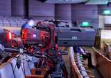 Television broadcast from the theater. Professional digital video camera. - 181332169