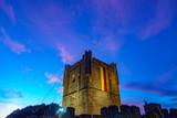 Fort Castillo in Braganza at dusk - 181336501