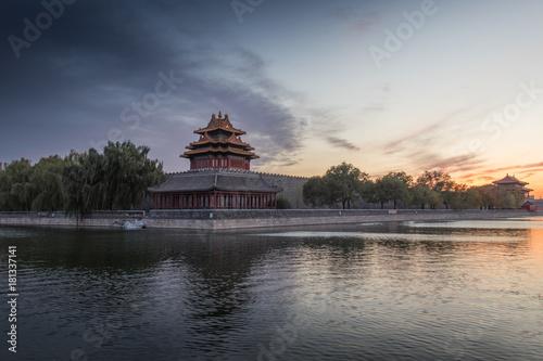 Corner Tower - The Forbidden City (Windy)