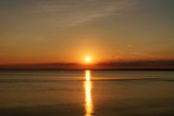 summer sunset on the gulf of finland on baltic sea - 181340167