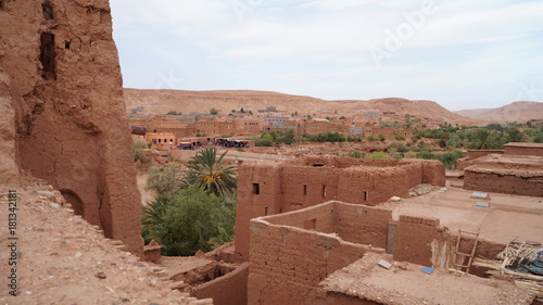 Fotobehang Diepbruine Marokko