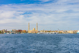 Egypt. Hurghada. Landscape from the sea - 181344577