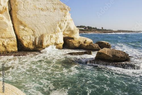 Море в Рош-ха-Никра Poster