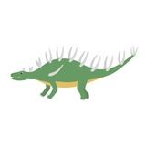 Kentrosaurus icon. Cartoon illustration of kentrosaurus icon for web