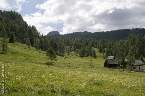 Papiers peints Bleu ciel Alpe devero