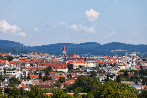 Foto op Canvas Wenen City of Vienna Cityscape in Austria