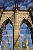 Brooklyn Bridge view, New York, USA - 181360346