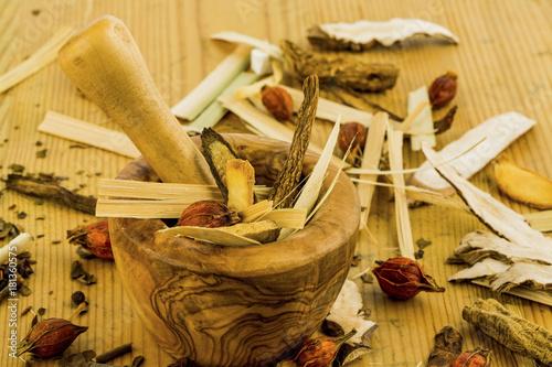 Papiers peints Salle de cafe tea for traditional chinese medicine
