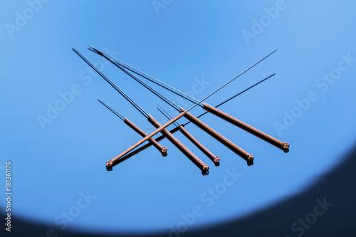 acupuncture needles - 181361176