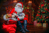 Santa with gifts - 181374577