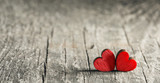 Two wooden hearts - 181382100