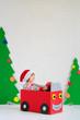 Quadro Happy child on Christmas eve