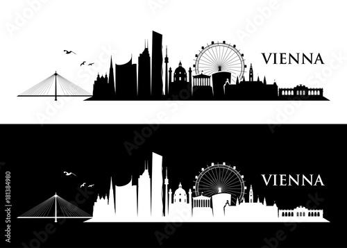 obraz lub plakat Vienna skyline