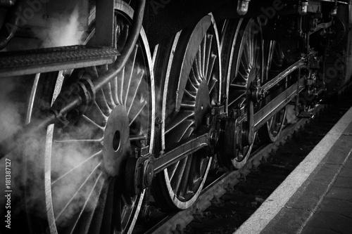 Koło pociągu